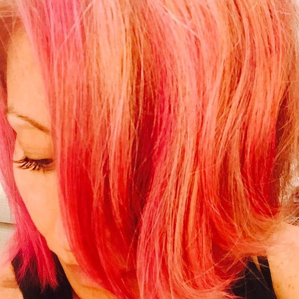 You'll Never Guess Which Celeb Just Dyed Her Hair Pink