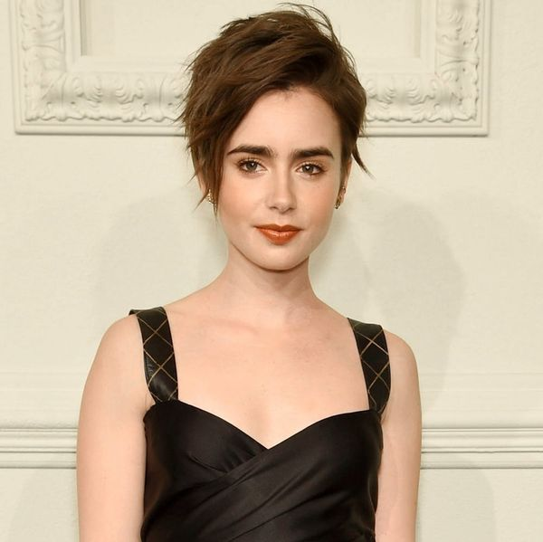 Lily Collins' New Haircut Is the Perfect Summer 'Do