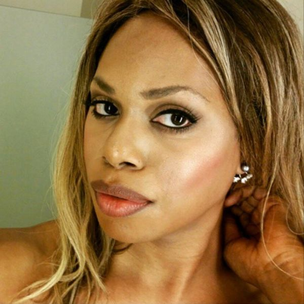 Laverne Cox Started the Most Beautiful Hashtag You're Seeing All Over Instagram