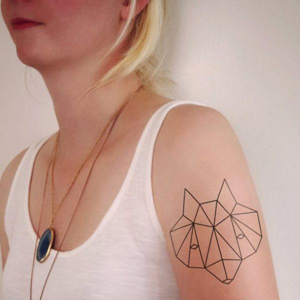 The 14 Prettiest Geometric Tattoos You Ever Did See