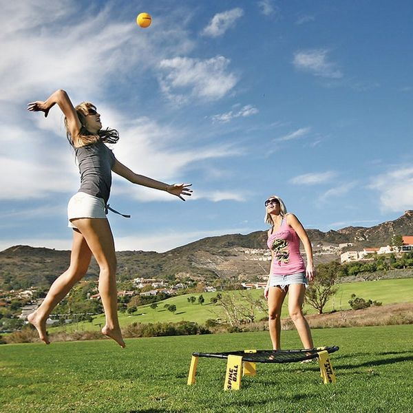 You'll Like This Innovative New Beach Game Way More Than Volleyball