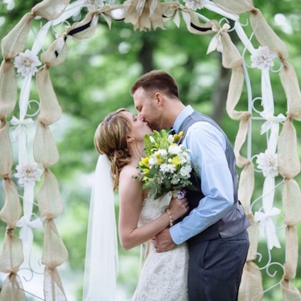 This Rustic Lakeside Wedding Is to DIY for