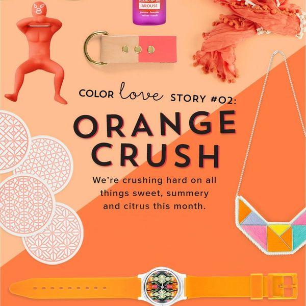 #ColorLoveStory: 20 Orange Goodies We're Crushing on