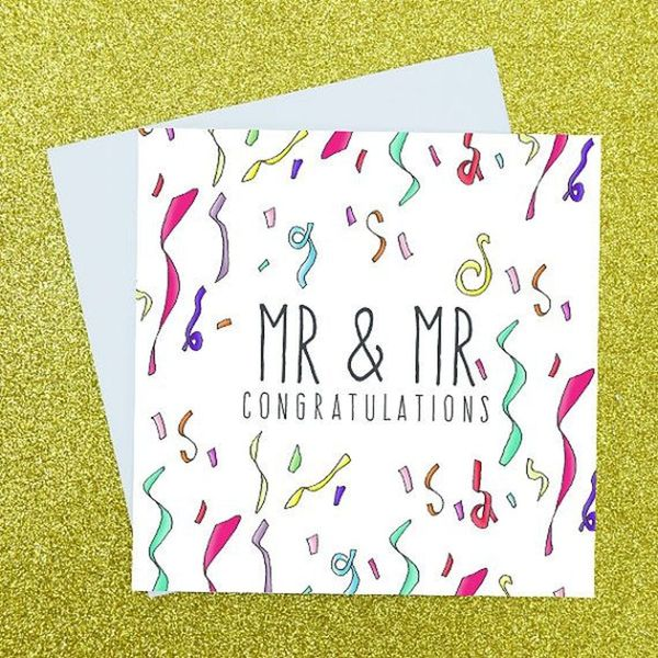 16 Sweet Wedding Cards for the Happy Couple