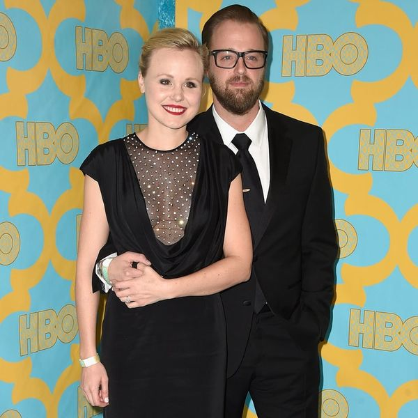 5 Ways to Copy Alison Pill's Non-Traditional Colored Wedding Dress
