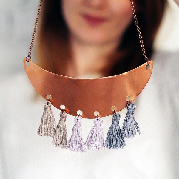 17 Fringe-tastic Necklaces to Make Now
