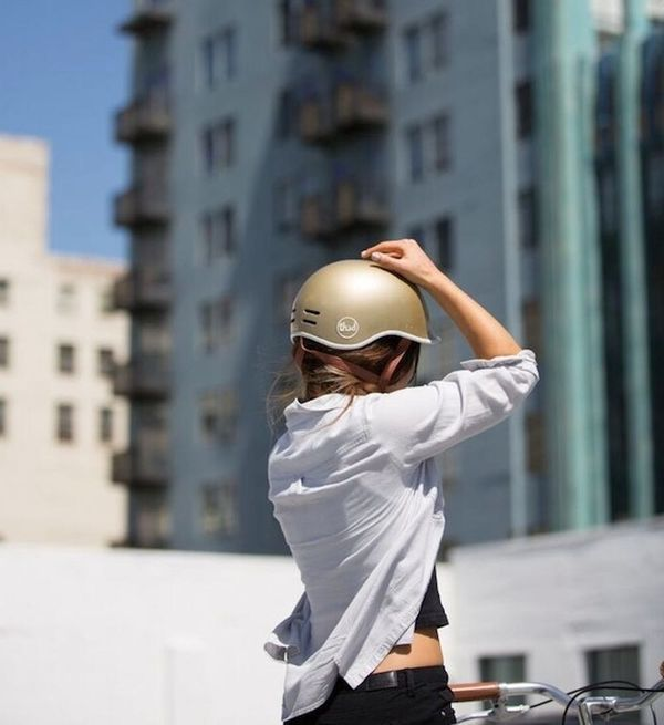 This Is a Stylish, Eco-Friendly Bike Helmet You'll Actually Want to Wear