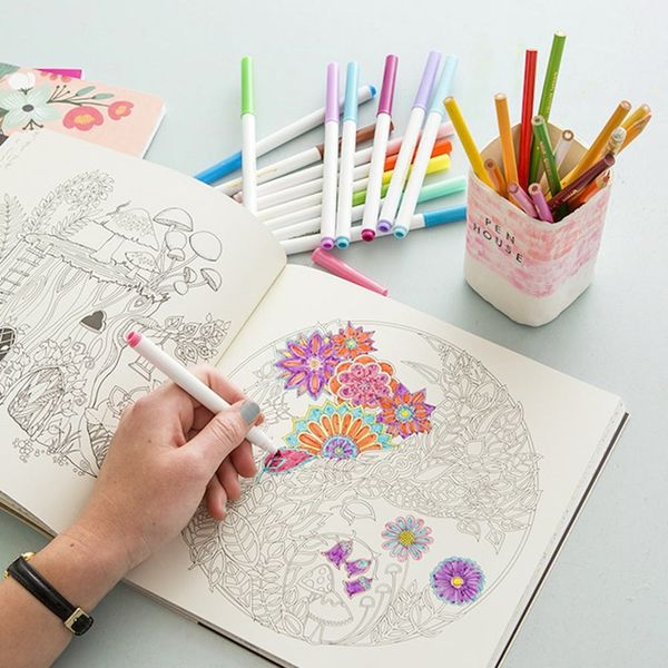 Color the Stress Away With 13 Coloring Books for Adults