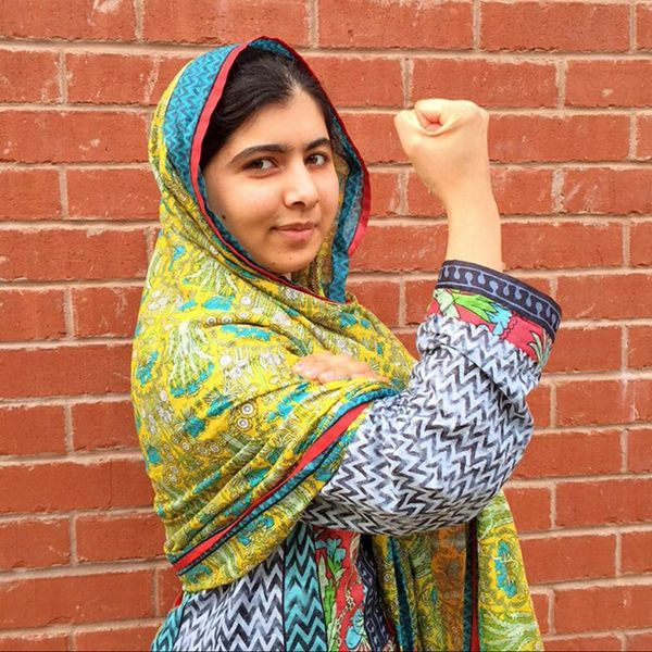 Malala Is Starting a Whole New Selfie Trend You Need to Get Behind
