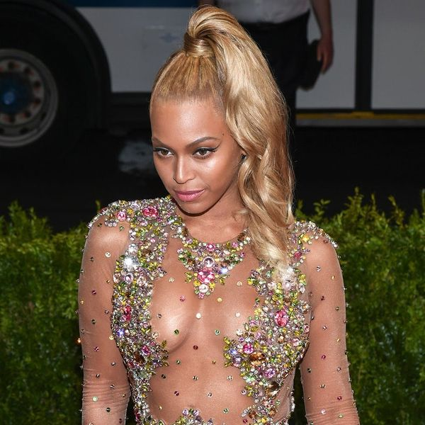 This Is the Crazy Secret to Beyoncé's Met Gala Ponytail