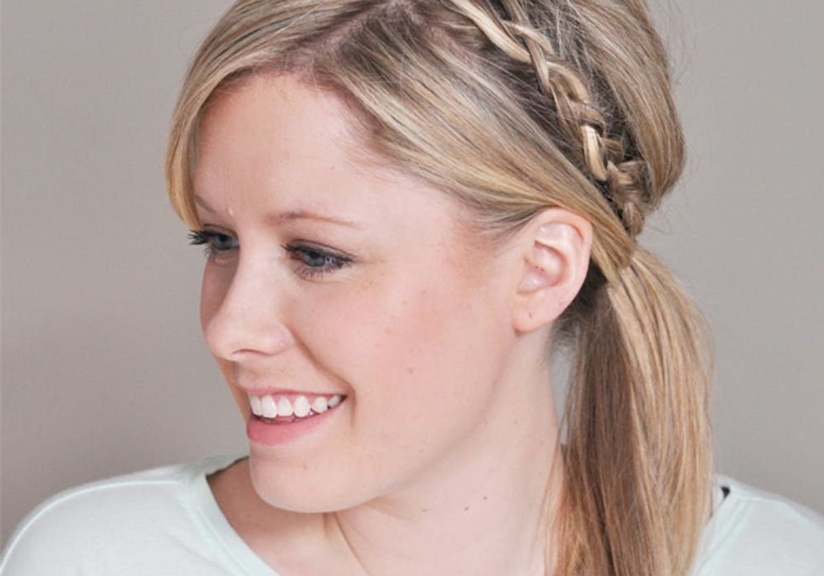 14 Ridiculously Easy 5 Minute Braided Hairstyles Brit Co
