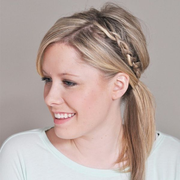 14 Ridiculously Easy 5-Minute Braided Hairstyles