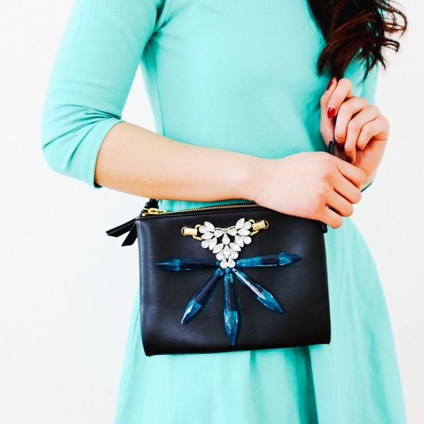 How to Upgrade a Boring Purse With Easy Embellishments in Just 3 Steps