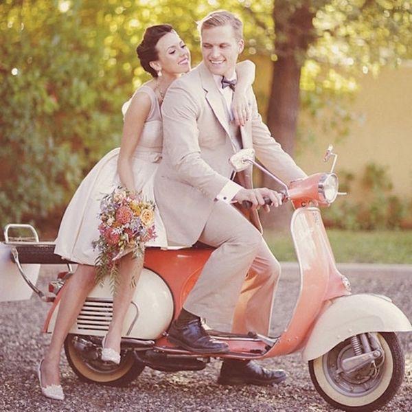 17 Whimsical Wedding Getaway Vehicles Better Than a Limo