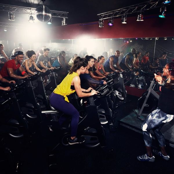 This Gym Has a New Cycling Trend Pitch Perfect Fans Will Love