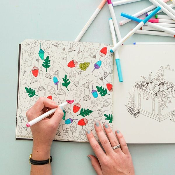 This Funny Coloring Book for Adults Mocks Grown-Up Life
