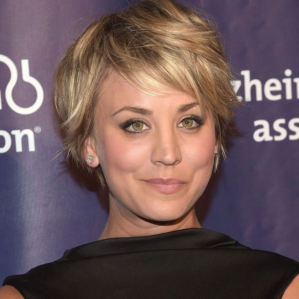 Kaley Cuoco's New 'Do Will Make You Want to Dye Your Hair Pink
