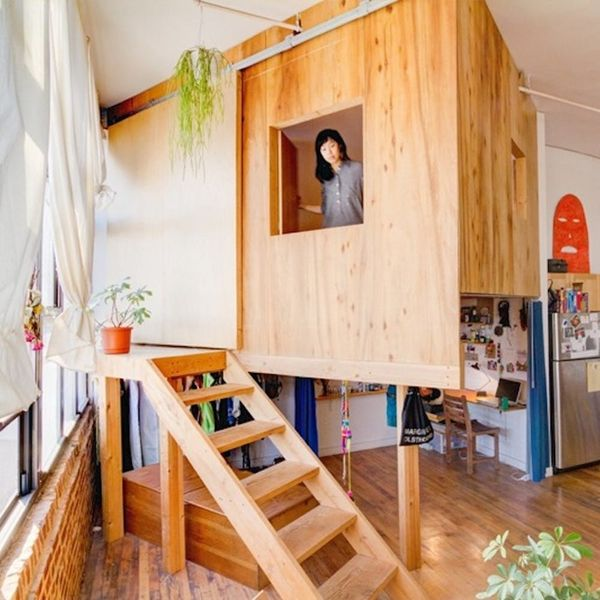 You Have to See This Treehouse Built Inside a Studio Apartment!