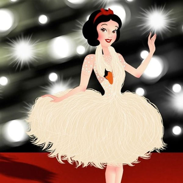 See Disney Princesses Dressed as Your Favorite Red Carpet Celebs
