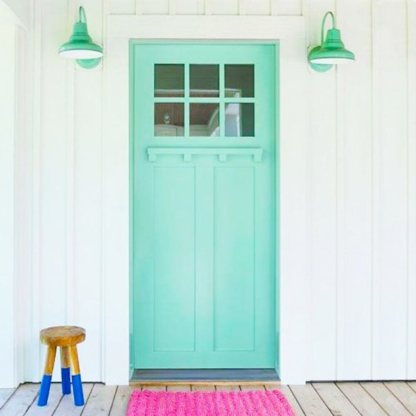 12 Cute Front Door Ideas You Can Totally DIY
