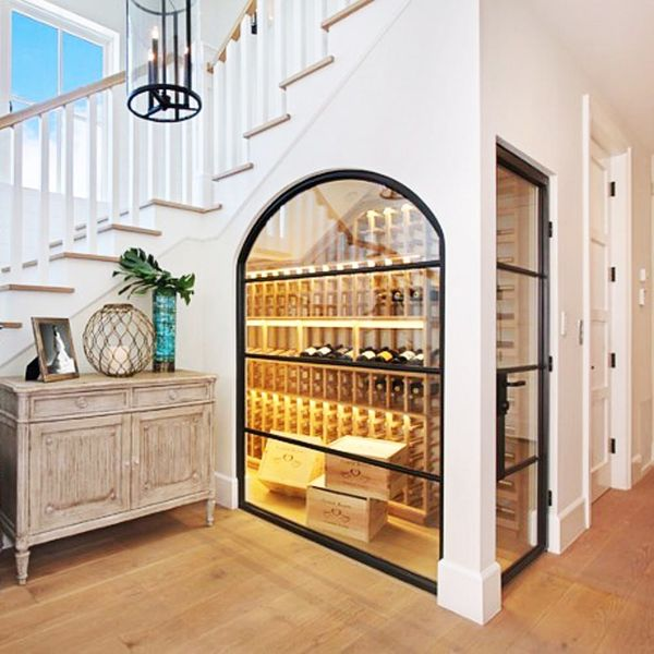 12 Luxe Wine Cellars We Want in Our House Someday