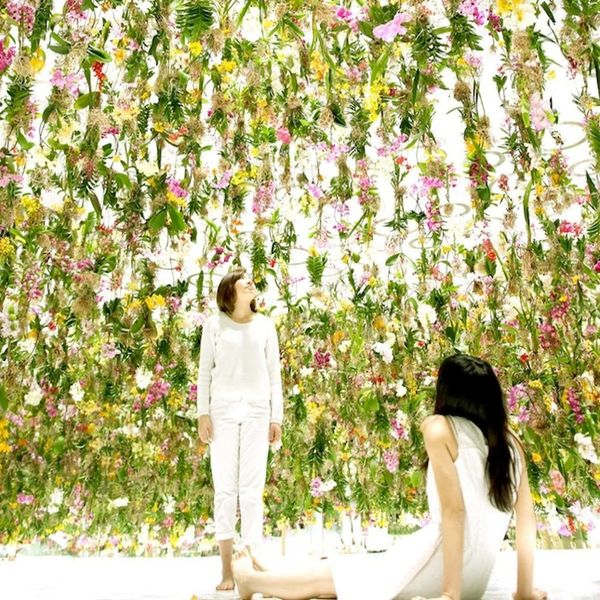 You've Got to Check Out This Flower Installation IRL