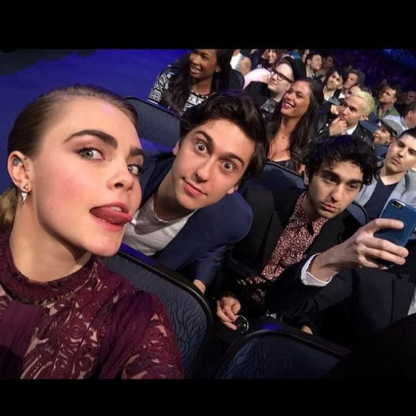 What the Stars Instagrammed at the MTV Movie Awards