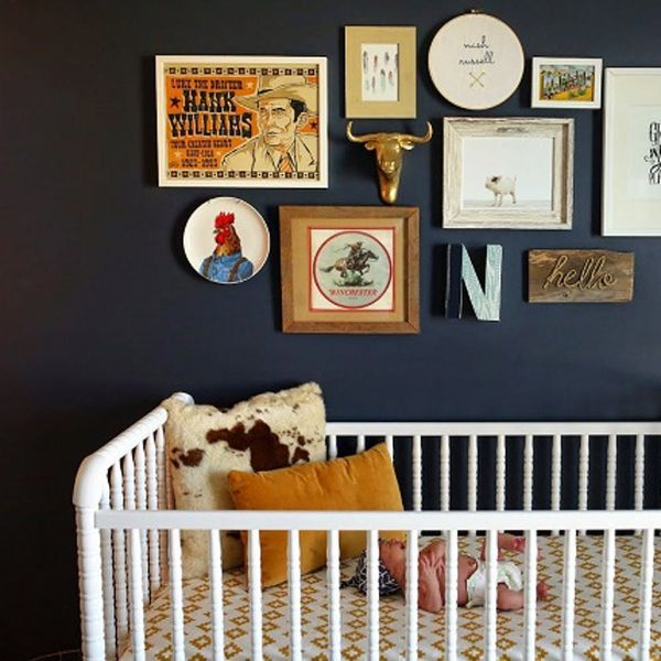 19 Nursery Decorating Ideas That Are NOT Blue + Pink