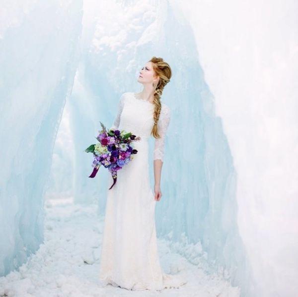 Disney Princess Weddings IRL: 15 Ideas Inspired by Frozen + Queen Elsa