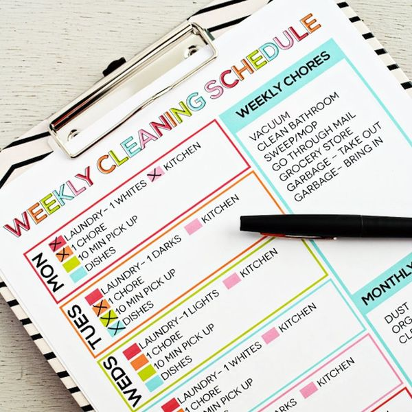 11 Free Printable Checklists to Help You Conquer Spring Cleaning
