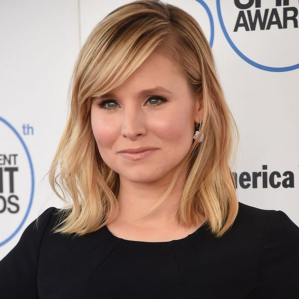 Why Kristen Bell Is Challenging You to Not Wash Your Face
