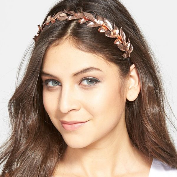 10 Ways to Wear Rose Gold in Your Hair