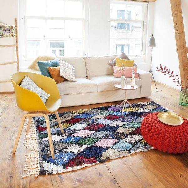You'll Never Guess What This Rug Is Made Out of…