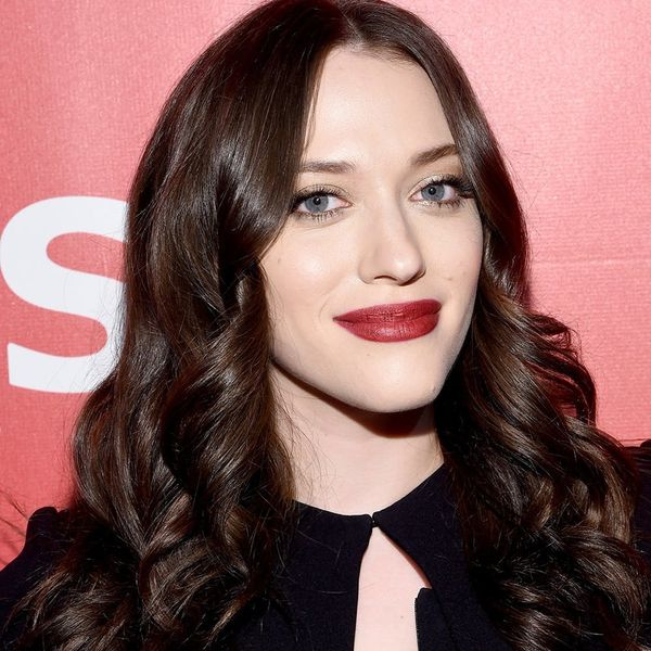 Kat Dennings Tried This Pinterest Hair Hack… and Failed Miserably
