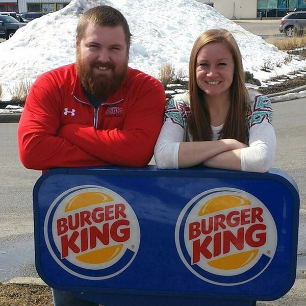 Yes, There's a Mr. Burger and a Ms. King and They're Getting Married