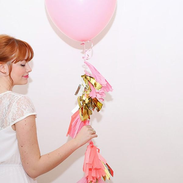 Make This Tassel Balloon for Your Wedding in 5 Minutes