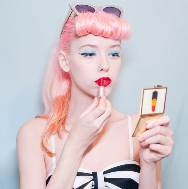 Pink Hair, Don't Care: This Style Blogger Is Your New Retro Inspiration