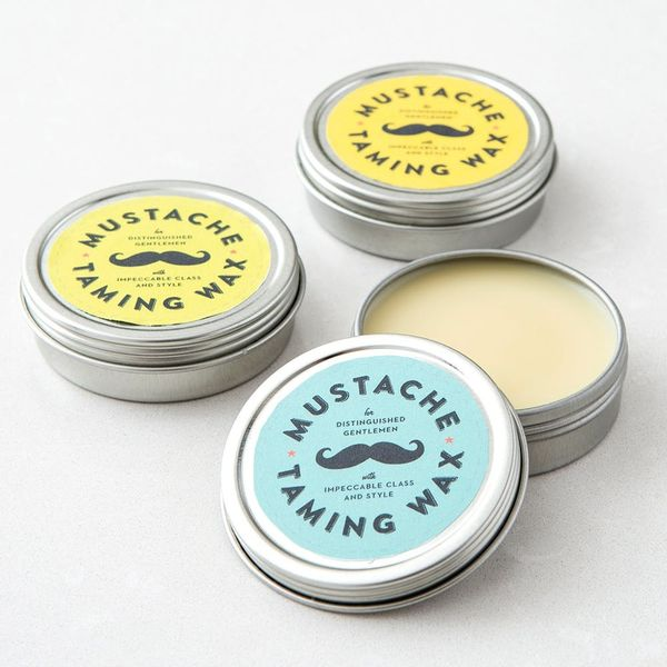 Tame That Handlebar With This 2-Ingredient Mustache Wax
