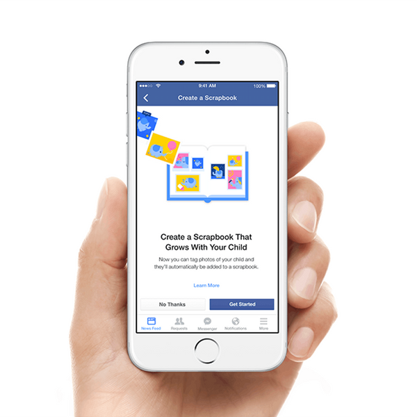 Facebook Has a New Way for You to Share Your Baby Photos
