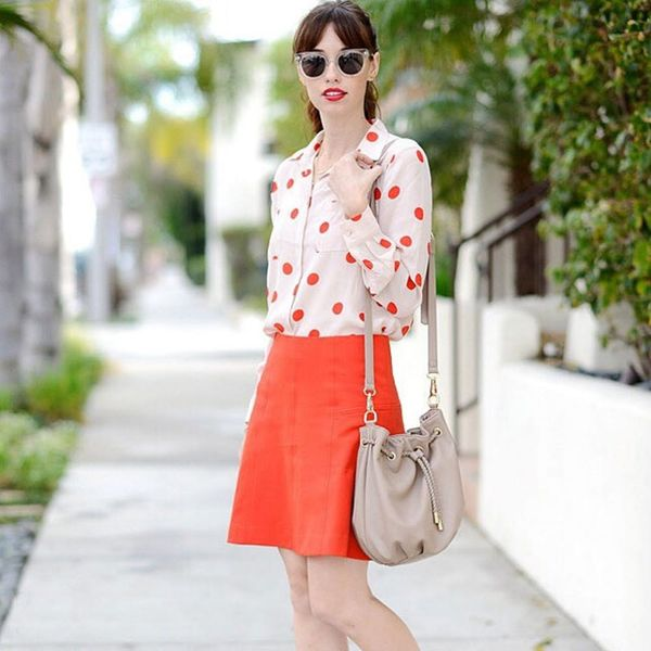 7 #OOTDs for the Week: Why You Need a Colorful Skirt This Spring