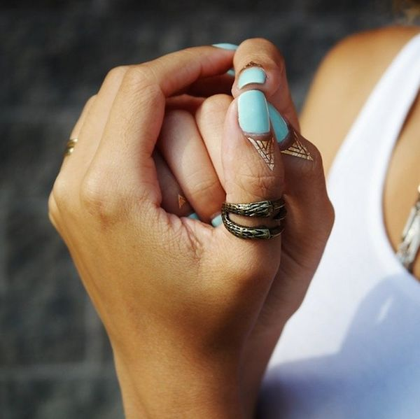 The Next Big Nail Art Trend Isn't Even on Your Nails