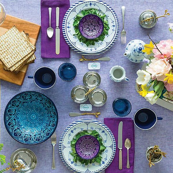 15 Beautiful Tablescape Ideas for Your Seder Dinner