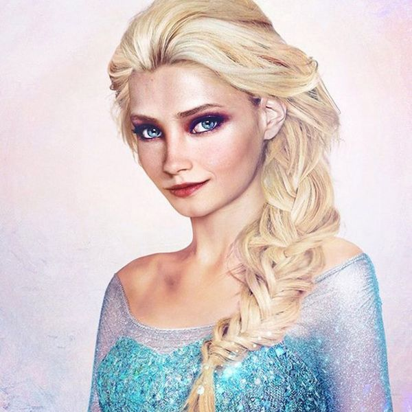 This Is What Frozen's Anna and Elsa Would Look like IRL