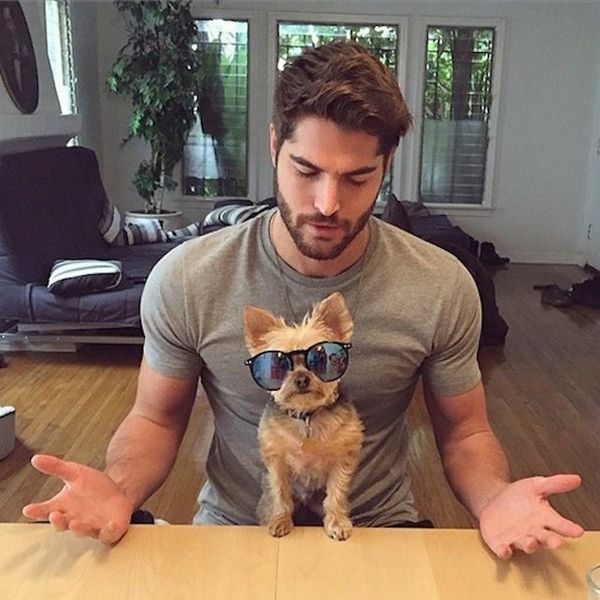 Hot Dudes + Dogs = Your New Favorite Instagram Account