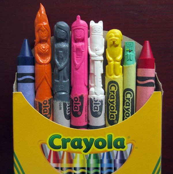 These Throwback Crayon Sculptures Will Make You Wax Poetic