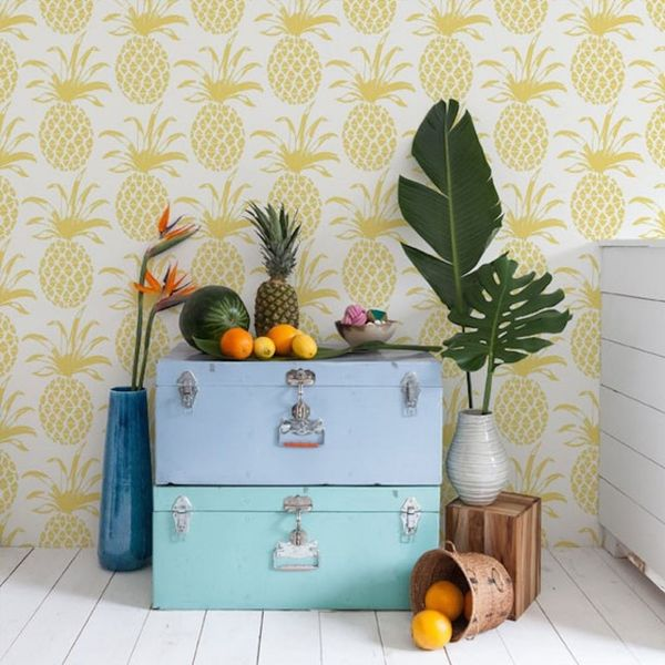18 of the Prettiest Nature-Inspired Wallpapers and Wall Decals