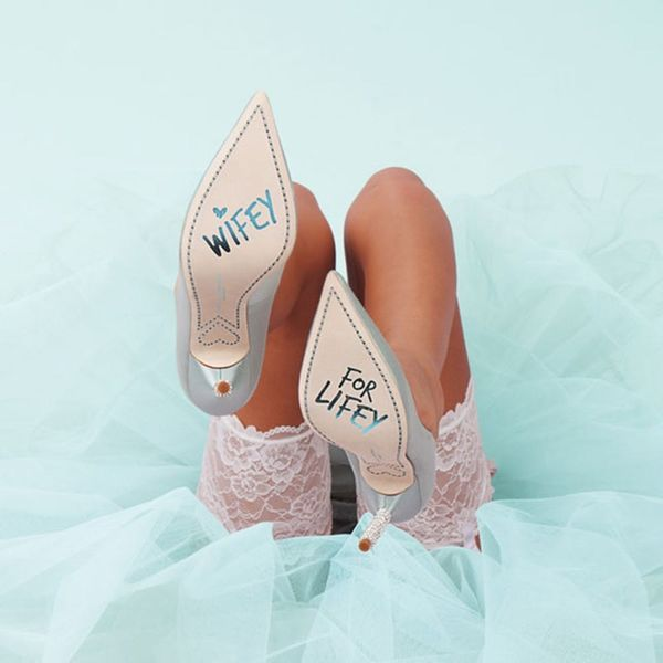 These New Designer Wedding Shoes Are Every Bride's Dream