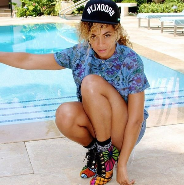 Say What? Beyoncé Is Your New Favorite Shoe Designer