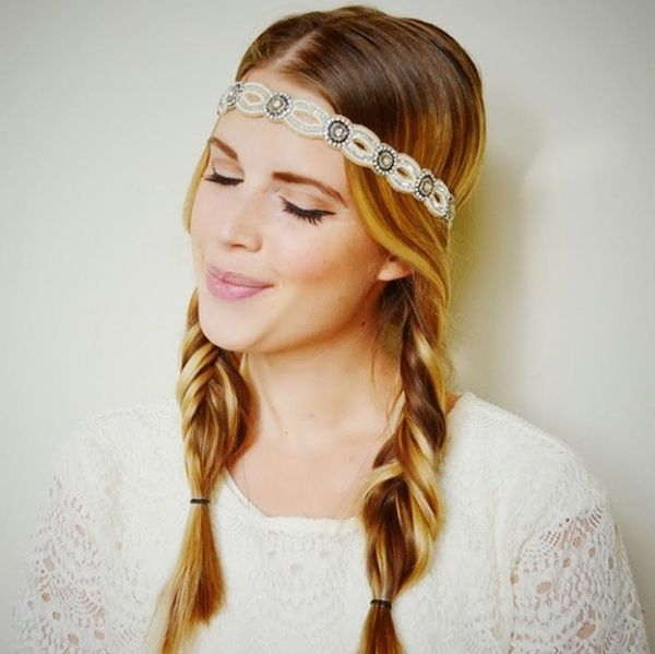22 Stylish Tricks for Perfect Festival Hair