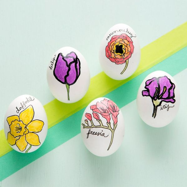 Make These Floral Easter Eggs in 5 Easy Steps